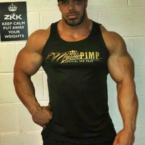Muscle Pimp Tank-Top Front